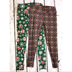 Bundle TC LuLaRoe Leggings 2 pairs